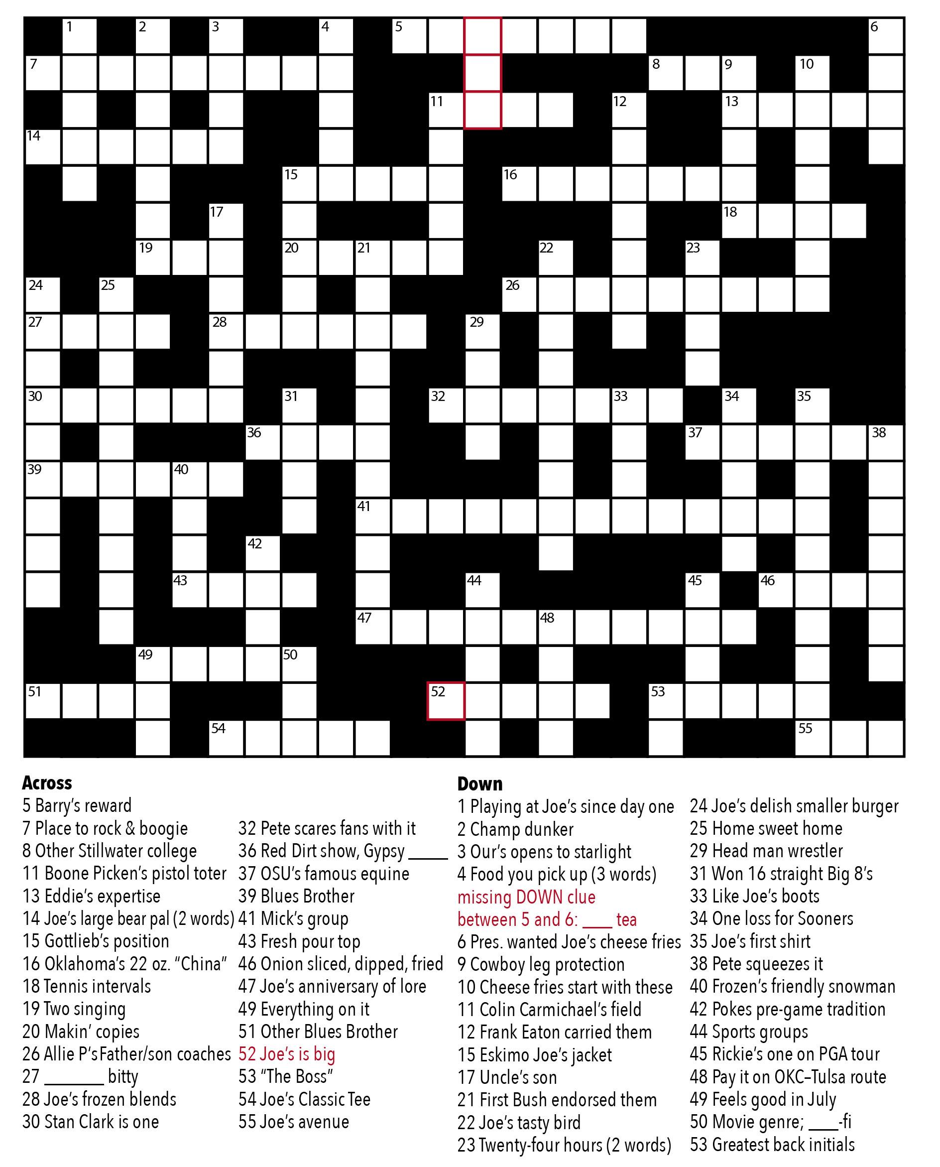 Crossword Puzzle Maker: Final Puzzle